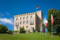 Deutschland, Rheinland-Pfalz, Neustadt an der Weinstrasse: Das Hambacher Schloss, Symbol der deutschen Demokratiebewegung | Germany, Rhineland-Palatinate, Neustadt an der Weinstrasse: Hambach Castle, symbol of the German democracy movement