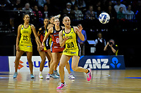 Pulse&rsquo; Whitney Souness in action during the ANZ Premiership - Pulse v Tactix at TSB Arena, Wellington, New Zealand on Monday 14 May 2018.<br /> Photo by Masanori Udagawa. <br /> www.photowellington.photoshelter.com