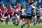 NELSON, NEW ZEALAND - October 14: Tasman Women v Hawke's Bay in the Farah Palmer Cup, October 14, 2017, Trafalgar Park, Nelson, New Zealand. (Photo by: Barry Whitnall Shuttersport Limited)