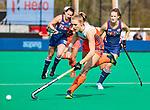 ROTTERDAM - Kyra Fortuin (Ned) tijdens de Pro League hockeywedstrijd dames, Netherlands v USA (7-1)  ..COPYRIGHT  KOEN SUYK