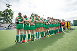 Mannheim, Germany, June 10: During the U16 Girls fieldhockey match between Ireland and Australia at the Whitsun Tournament on June 10, 2019 at Am Neckarkanal in Mannheim, Germany. (Copyright Dirk Markgraf) ***
