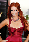 "Actress Phoebe Price arrives at the American Premiere of ""The Mummy: Tomb Of The Dragon Emperor at the Gibson Amphitheatre on July 27, 2008 in Universal City, California."