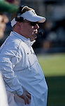Nevada Wolf Pack head coach Brian Polian during the game against the BYU Cougars played at Mackay Stadium on Saturday afternoon, November 30, 2013 in Reno, Nevada.