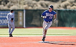 Wildcats' Corey Pool rounds second after hitting a two-run homer against College of Southern Idaho at Western Nevada College in Carson City, Nev., on Thursday, Feb. 26, 2015. <br /> Photo by Cathleen Allison/Nevada Photo Source