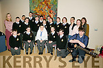 Kerry Education and Training Board and co-hosted by Kerry Music Education Partnership A Kerry students 1916 commemoration event in The Rose Hotel on Tuesday. Picture Colaiste na Riochta, Listowel Community College