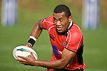 David Raikuna. Air New Zealand Air NZ Cup warm-up rugby game between the Counties Manukau Steelers & Tasman Mako's, played at Growers Stadium Pukekohe on Sunday July 20th 2008..Counties Manukau won the match 30 - 7.
