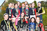 COMPETITION: Heading to Belfast to take part in the National Trampoline Championships.on April 29th are members of the Tralee Gymnastic Club. Included are Mary Lynch,.Deirdre Slattery, Shannon OSullivan, Lilith Walker, Claire McCarthy, Roisin Ni Dhomhnaill.