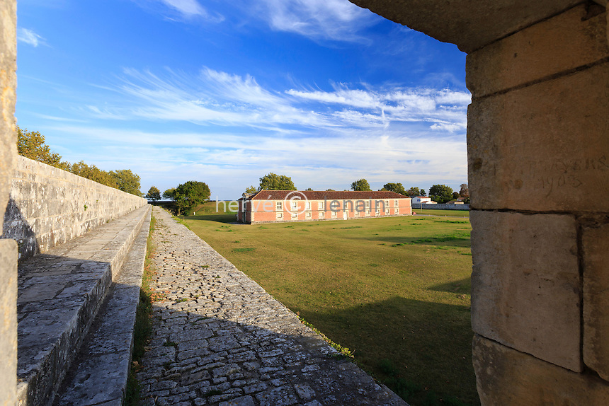 France, Charente-Maritime (17), Hiers-Brouage, citadelle de Brouage, la Halle aux vivres // France, Charente Maritime, Hiers Brouage, Citadel of Brouage, Halle aux Vivres
