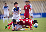 Vietnam vs Kyrgyzstan during their AFC U-16 Championship India 2016 Group B match at Pandit Jawaharlal Nehru Stadium on 22 September 2016, in Goa, India. Photo by Stringer / Lagardere Sports