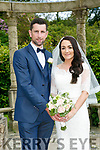 Lisa Quilter and Kieran Murphy married on Friday 23rd June 2017 with a reception at Ballyseede
