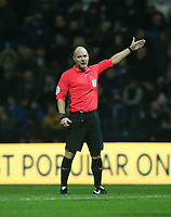 Referee Scott Duncan<br /> <br /> Photographer Stephen White/CameraSport<br /> <br /> The EFL Sky Bet Championship - Preston North End v Hull City - Wednesday 26th December 2018 - Deepdale Stadium - Preston<br /> <br /> World Copyright &copy; 2018 CameraSport. All rights reserved. 43 Linden Ave. Countesthorpe. Leicester. England. LE8 5PG - Tel: +44 (0) 116 277 4147 - admin@camerasport.com - www.camerasport.com