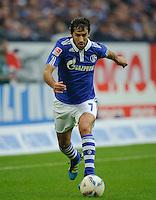 Fussball Bundesliga Saison 2011/2012 6. Spieltag FC Schalke 04 - FC Bayern Muenchen RAUL (Schalke).