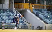 4th October 2017, WACA Ground, Perth, Australia; 2017 JLT One Day Cup, Tasmania versus Victoria; Victorian Bushrangers Scott Boland bowls