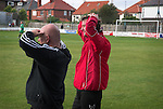 Gary Forrest looks on as his team concede the winning goal in the 89th minute. Whitby Town 3 Shildon 2, FA CUP 1st Round Qualifying, 15th September 2007.