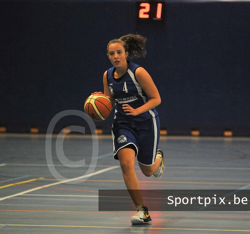 BT Basket Kortrijk Dames  : Nele Vervenne<br /> foto VDB / Bart Vandenbroucke