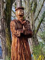 Luther-Denkmal von Stefan Kr&ouml;ll, Meran-Merano, Bozen &ndash; S&uuml;dtirol, Italien<br /> Luther Monument by Stefan Kroll, Meran-Merano, province Bozen-South Tyrol, Italy
