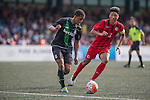 Stoke City vs HKFA U-21 during the Main tournament of the HKFC Citi Soccer Sevens on 22 May 2016 in the Hong Kong Footbal Club, Hong Kong, China. Photo by Li Man Yuen / Power Sport Images