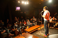Manu NNa, Stand up comedy in cafe 22, Colonia Condesa, Mexico DF
