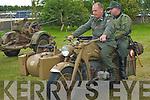 WORLD WAR 2: Enjoying the World War 2 display at the Ardfert Summer Festival on Sunday