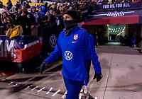COLUMBUS, OH - NOVEMBER 07: Carli Lloyd #10 of the United States enters the field during a game between Sweden and USWNT at Mapfre Stadium on November 07, 2019 in Columbus, Ohio.