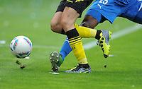 FUSSBALL   1. BUNDESLIGA  SAISON 2011/2012   2. Spieltag   13.08.2011 TSG 1899 Hoffenheim - Borussia Dortmund  ADIDAS Torfabrik Ball