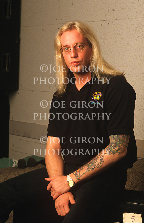 Various portrait sessions of the rock band, Warrant