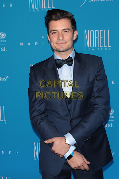 NEW YORK, NY - DECEMBER 1: Orlando Bloom attends the 11th Annual UNICEF Snowflake Ball at Cipriani, Wall Street on December 1, 2015 in New York City.  <br /> CAP/MPI99<br /> &copy;MPI99/Capital Pictures
