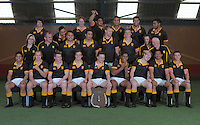 121018 Rugby - Wellington Under-18s Team Photo