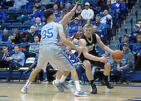 December 12, 2015 - Colorado Springs, Colorado, U.S. -  Army guard, Adam Roe #45, during an NCAA basketball game between the Army West Point Black Knights and the Air Force Academy Falcons at Clune Arena, U.S. Air Force Academy, Colorado Springs, Colorado.  Army West Point defeats Air Force 90-80.