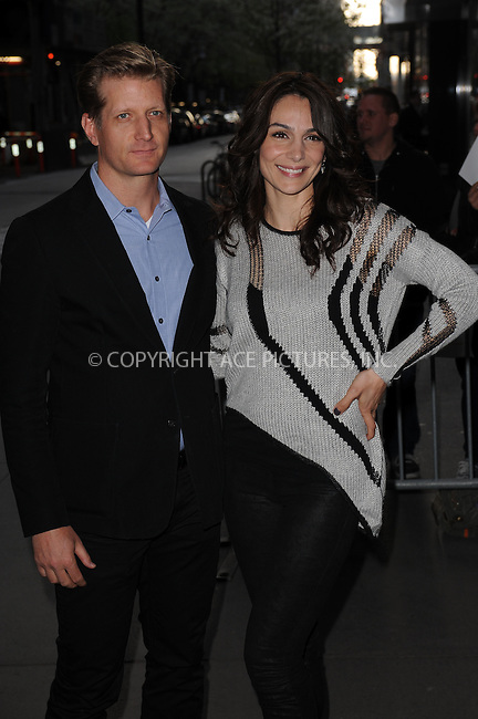 WWW.ACEPIXS.COM . . . . . .April 21, 2013...New York City....Paul Sparks and Annie Parisse attend the Cinema Society screening of 'Mud' at The Museum of Modern Art on April 21, 2013 in New York City ....Please byline: KRISTIN CALLAHAN - ACEPIXS.COM.. . . . . . ..Ace Pictures, Inc: ..tel: (212) 243 8787 or (646) 769 0430..e-mail: info@acepixs.com..web: http://www.acepixs.com .