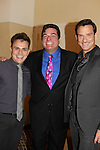 Guiding Light's Sean McDermott poses with Mitch McConnell and Dale Badway (all three sang at the cabaret) - The 29th Annual Jane Elissa Extravaganza which benefits The Jane Elissa Charitable Fund for Leukemia & Lymphoma Cancer, Broadway Cares and other charities on November 14, 2016 at the New York Marriott Hotel, New York City presented by Bridgehampton National Bank and Walgreens.  The event is a Cabaret with singers Sean McDermott (Guiding Light)Mitch and Dale.  (Photo by Sue Coflin/Max Photos)