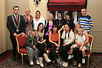 CSI participants with family members and Mayor Kevin Callan at the presentation of ESLO and CSI Certificates in the Westcourt Hotel....(Photo credit should read Jenny Matthews www.newsfile.ie)....This Picture has been sent you under the conditions enclosed by:.Newsfile Ltd..The Studio,.Millmount Abbey,.Drogheda,.Co Meath..Ireland..Tel: +353(0)41-9871240.Fax: +353(0)41-9871260.GSM: +353(0)86-2500958.email: pictures@newsfile.ie.www.newsfile.ie.