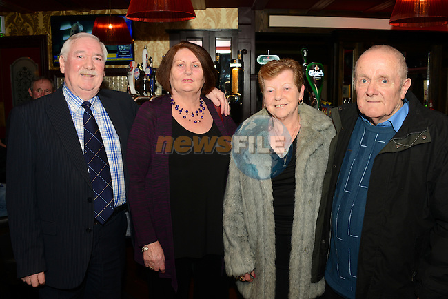 Tommy and Marie Moran and Ollie Lynn and Jim the preview night at Donaghy's pub. www.newsfile.ie