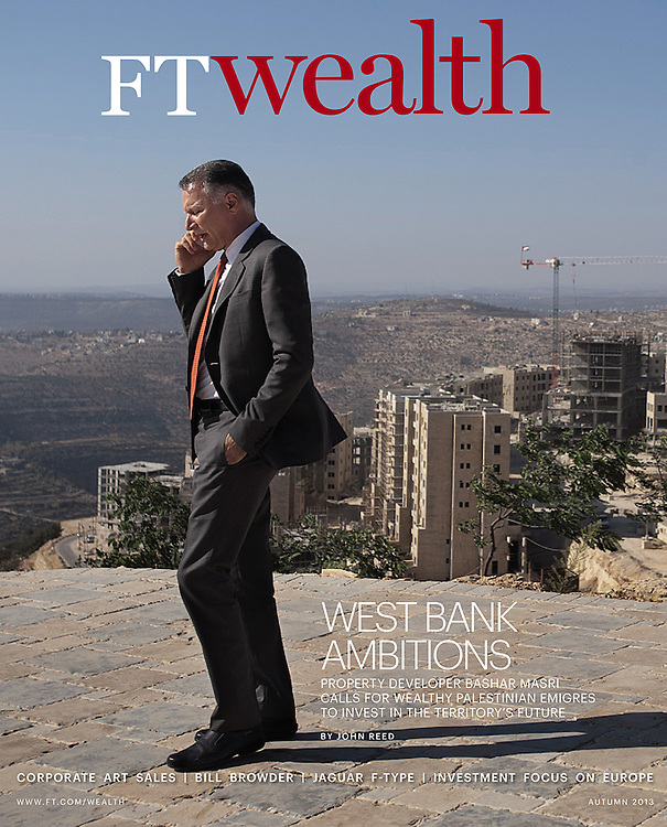 Financial Times 'Wealth' issue, UK - Autumn 2013