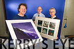 Artist John Hurley, Brendan Kennelly, Marketing Manager Kerry's Eye and Colin Lacey Editor Kerry's Eye
