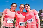 Ballybunion Easter Half Marathon & 10k : pictured at the 5th annual half marathon & 10k runs in Ballubunion on Sautday last were Sharon Enright, Eileen Kiely & Cartherine Enright from Liselton.
