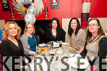 40th Birthday : Linda Lynch, Glin celebrating her 40th birthday with her sisters  at Eabha Joan's Restaurant, Listowel on Saturday night last. L-R: Louise Lynch, Emer Dennehy, Linda, Carol & Denise Lynch.