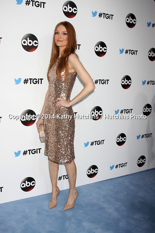 LOS ANGELES - SEP 20:  Darby Stanchfield at the TGIT Premiere Event for Grey's Anatomy, Scandal, How to Get Away With Murder at Palihouse on September 20, 2014 in West Hollywood, CA