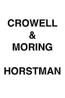 Crowell & Moring Horstman