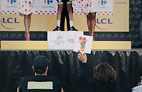 The real Master of Ceremony at work (flowers next)<br /> <br /> 104th Tour de France 2017<br /> Stage 3 - Verviers › Longwy (202km)