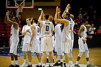 GRONINGEN - Basketbal, Donar - Pristina, voorronde Champions League, seizoen 2018-2019, 22-09-2018,  Donar bedankt de fans