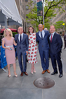 www.acepixs.com<br /> <br /> May 15 2017, New York City<br /> <br /> (L-R) Anchors Megyn Kelly, Matt Lauer, Savannah Guthrie, Lester Holt and Chuck Todd  arriving at the 2017 NBCUniversal Upfront at Radio City Music Hall on May 15, 2017 in New York City.<br /> <br /> By Line: Curtis Means/ACE Pictures<br /> <br /> <br /> ACE Pictures Inc<br /> Tel: 6467670430<br /> Email: info@acepixs.com<br /> www.acepixs.com