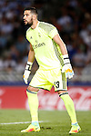 Real Madrid's Kiko Casilla during La Liga match. August 21,2016. (ALTERPHOTOS/Acero)