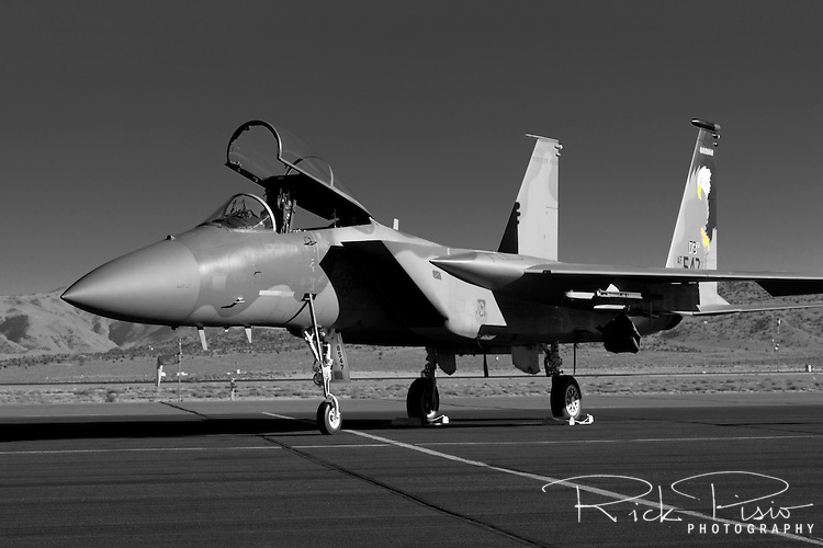 Oregon Air National Guard F-15 Eagle  of the 173rd Fighter Wing. The 173rd Fighter Wing is based at Kingsley Field in Klamath Falls, Oregon and was activated on June 27, 1996.