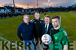 Adrian King, Red Chair Recruitment, Tommy Naughton, Kerry District League, Sean O'Keeffe, Kerry District League, Garry Keane, Killarney Celtic FC.