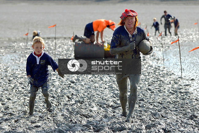 The Honest Lawyer Annual Mud Run, 7th April 2013, Monaco, Nelson, shuttersport.co.nz, Photographer: Barry Whitnall