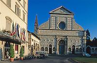 Italien, Toskana, Florenz, Kirche Santa Maria Novella, Unesco-Weltkuturerbe