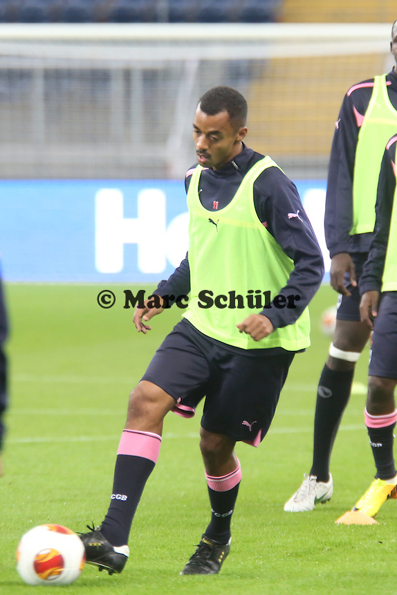 David Bellion (Bordeaux) - Training Bordeaux zur Begegnung der Europa League Eintracht Frankfurt vs. Girondins Bordeaux