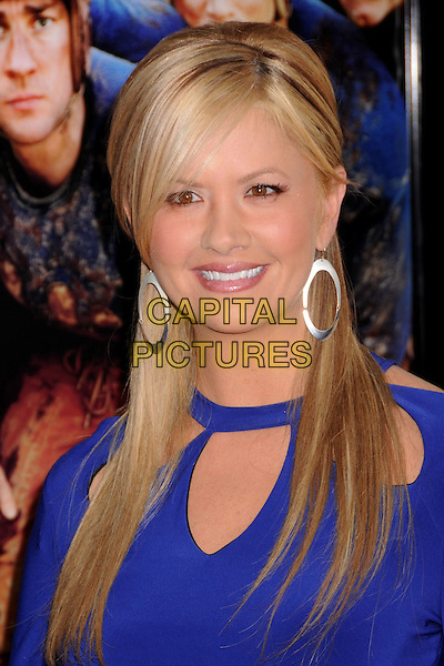 "NANCY O'DELL.""Leatherheads"" Los Angeles Premiere at Grauman's Chinese Theatre, Hollywood, California, USA..March 31st, 2008.headshot portrait silver hoop earrings .CAP/ADM/BP.©Byron Purvis/AdMedia/Capital Pictures."