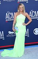 07 April 2019 - Las Vegas, NV - Miranda Lambert. 2019 ACM Awards at MGM Grand Garden Arena, Arrivals. Photo Credit: mjt/AdMedia
